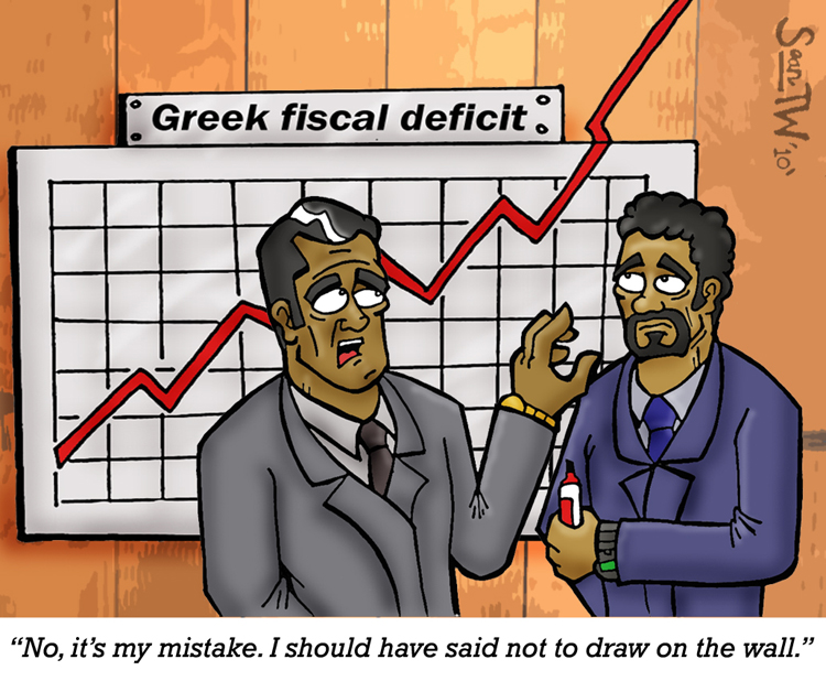 Greek Defeicit